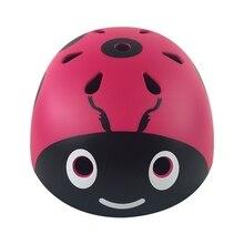 Открытый детский ударопрочный велосипедный спортивный шлем Божья коровка Катание на коньках Спортивная рыболовная Кепка шлем для верховой езды