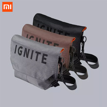 2020 new Xiaomi IGNITE single shoulder messenger bag style baita fashion solid durable fine details for daily use cheap Ready-to-Go Ride On sports outdoor Single Shoulder Messenger Bag 2 Channels white Viscose 100 Polyester 100 Galaxy grey mirage black