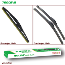 Front and Rear Wiper Blades For Suzuki Vitara 2015 Onwards Windscreen windshield Wipers Car Accessories 24+16+10 cheap toocene natural rubber 2018 2020 2019 2015Year 2016Year 2017Year 0 3kg clean the windshield TC212 Ningbo China