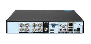 Image 3 - Uzaktan kumanda ses yüz algılama Hi3531D 8MP 4K Xmeye 8CH 8 kanal H.265 + hibrid koaksiyel WIFI 6 1 TVI CVI NVR AHD DVR