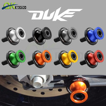 Motorcycle 10mm CNC Aluminum Accessorie Swingarm Slider stand Spool screw Swing Arm For KTM Duke 390 125 220 Duke-125 2013-2017 motorcycle cnc aluminum 9 colors keyless aluminum alloy fuel gas caps for ktm 125 200 duke	2012 2013 duke 790	18 19 duke r 890