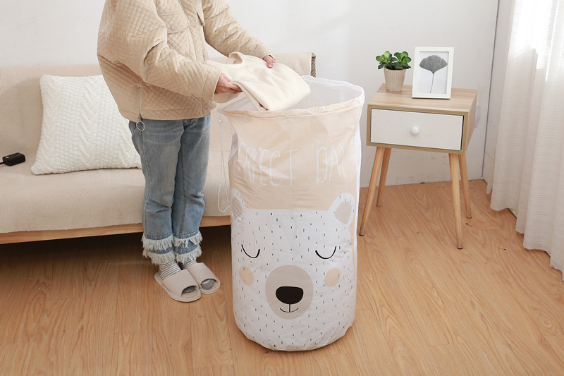 Moisture-Proof Quilt Shell Waterproof Quilt Storage Bag Large-Clothes of Organizing Folders Doggy Bag-Scrunch Top