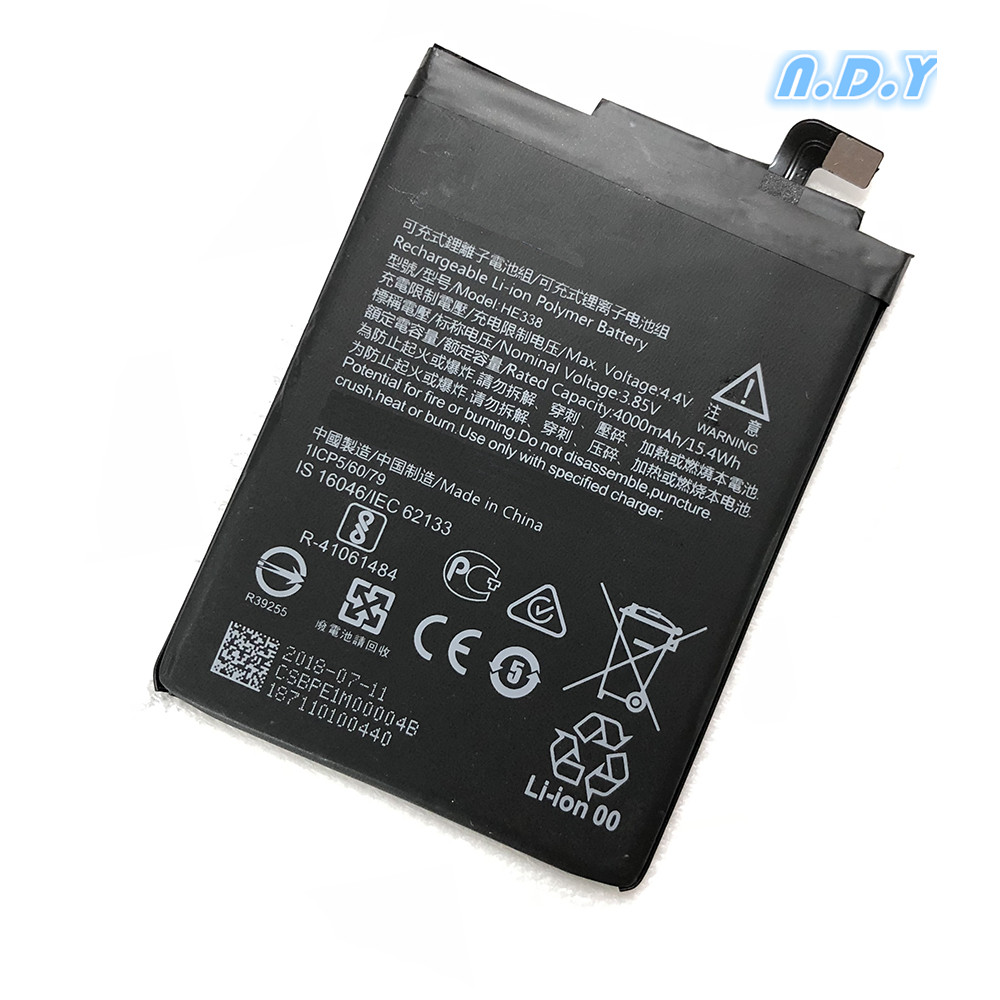 Original HE338 4000mAh Battery For Nokia 2 Nokia2 HE 338  Batteries Bateria