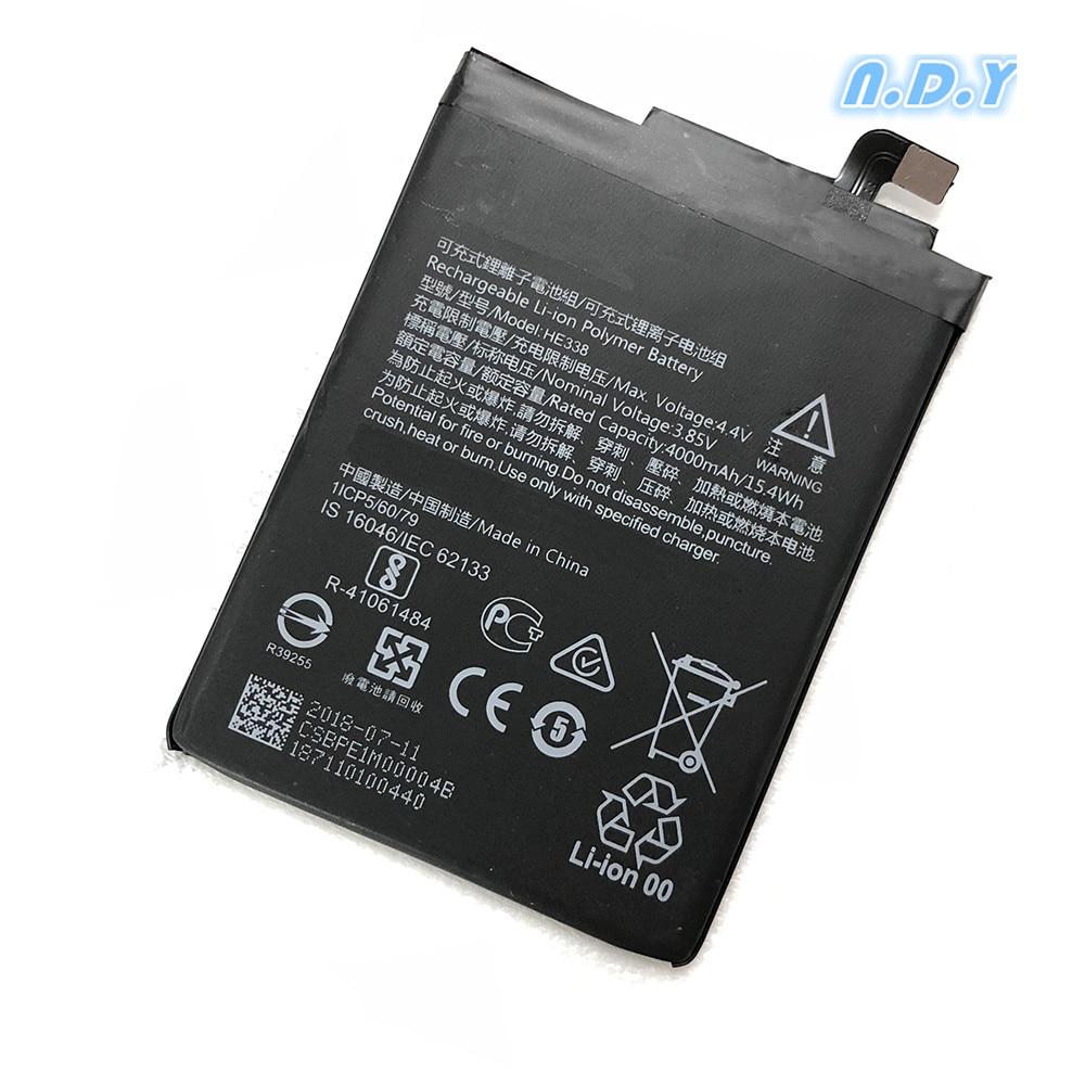 Original HE338 4000mAh Battery For Nokia 2 Nokia2 HE 338  Batteries Bateria