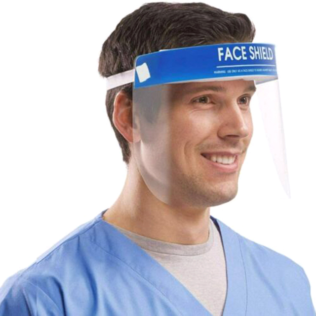 In stock now Protection Hat Anti Saliva Clear Hat Full Face Shield Full Face Isolation