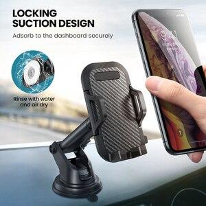 Image 3 - โทรศัพท์มือถือผู้ถือ Vent Air Car กระจกรถยนต์ Mount ขาตั้งโทรศัพท์ 360 คาร์บอนไฟเบอร์ผู้ถือสมาร์ทโฟนสนับสนุนรถ