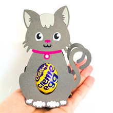 New Design Craft Metal Cutting Dies cut dies Easter egg cat decoration scrapbook Album Paper Card Craft Embossing die cuts