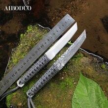 Прямой нож охотничий карманный для выживания кемпинга портативный