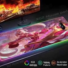 Xgz аниме розовая юбка Музыка Девушка пользовательский большой