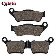 Moto avant arrière plaquettes de frein pour KTM SX XC XCW SXF EXC 250 300 TPI 2020 125 150 200 350 450 EXCF XCRW 400 500 525 530 625