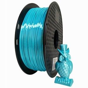 Image 3 - 1.75mm Silk Pla Filament 250g Shiny Metal like 0.25kg Black Red etc. 19 Colors Silk 3D Printer Filament for DIY Artwork Printing