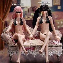 1/6 Super elastyczny kobiet bez szwu Petite ciała S24A/ 25B / 26A /27B dla Lolita Athena głowy 1/6 blady kolor PHICEN tblegue