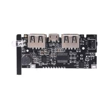 2-USB 5V 2.1A Mobile Power Bank 18650 Battery Charger Board Digital LCD Module LX9A wn 220a 3 lcd power board 100% new
