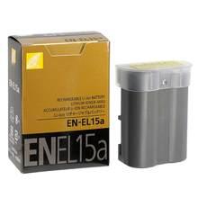 Batterie de caméra EN EL15A ENEL15, pour Nikon D850 D810 D750 D610 D7500 D7200 D7100 D200 D300 D700 D500 D600 EN-EL15a, MH-25a