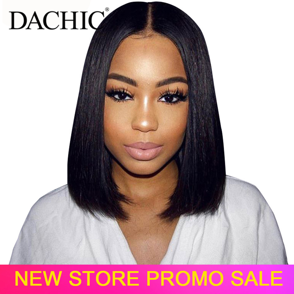 Bob Lace Front Wigs 100% Human Hair Wigs Short Bob Wig Virgo Pre Plucked 13x4 150% Lace Frontal Wigs Brazilian Remy Hair