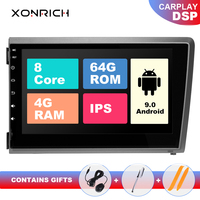 4GB IPS DSP 2 Din Android 9.0 Car DVD Player For VOLVO S60 V70 XC70 XC90 2000 2001 2002 2003 2004Multimedia GPS Radio Navigation