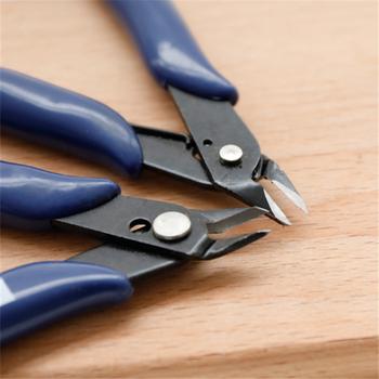 Przenośne szczypce do cięcia o wysokiej twardości 170 szczypce do cięcia drutu szczypce do cięcia bocznego szczypce do cięcia bocznego szczypce do cięcia sprzedaż tanie i dobre opinie CN (pochodzenie) manual 170 diagonal pliers Other blue Alloy steel 12 5x5 5cm