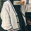Cardigan Women Spriped Single Breasted Beige Spring Autumn Korean Style  All-match Fashion Comfortable Casual Streetwear Chic 2
