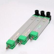Линейный датчик перемещения KTC электронные весы линейка тяги автоматический сброс миниатюрный пружинный токарный фрезерный преобразовате...