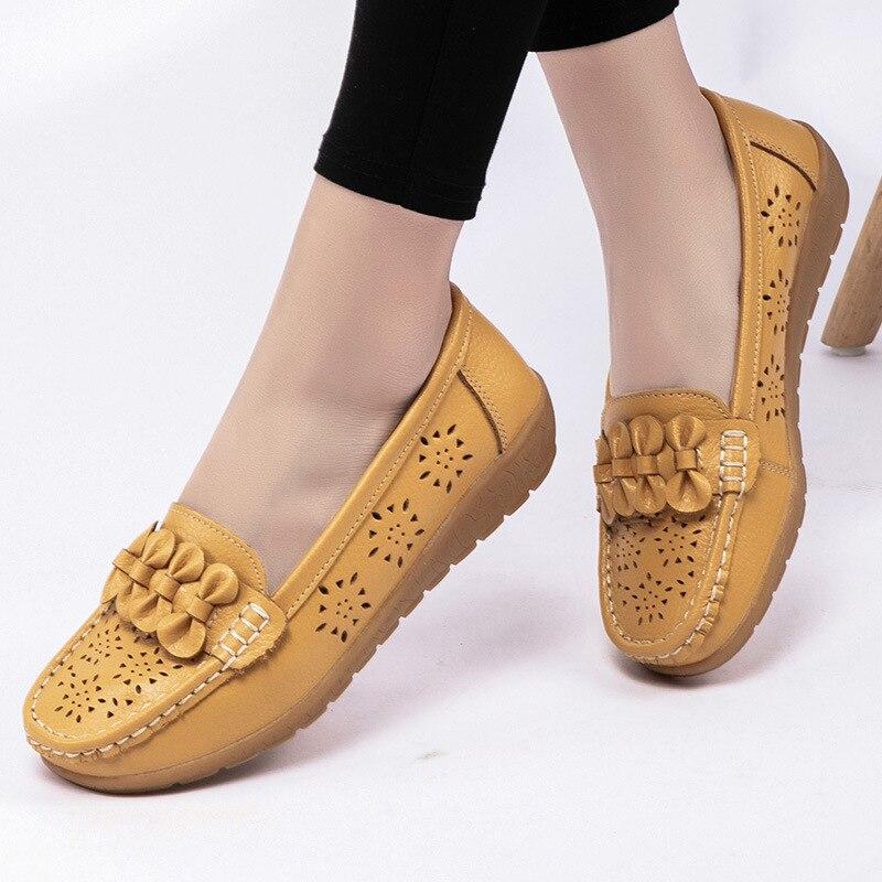 Shoes Woman Loafers Women's Fashion Casual Shoes 2020 Women Plus Size Flat Female Footwear Plus Size Zapatos De Mujer