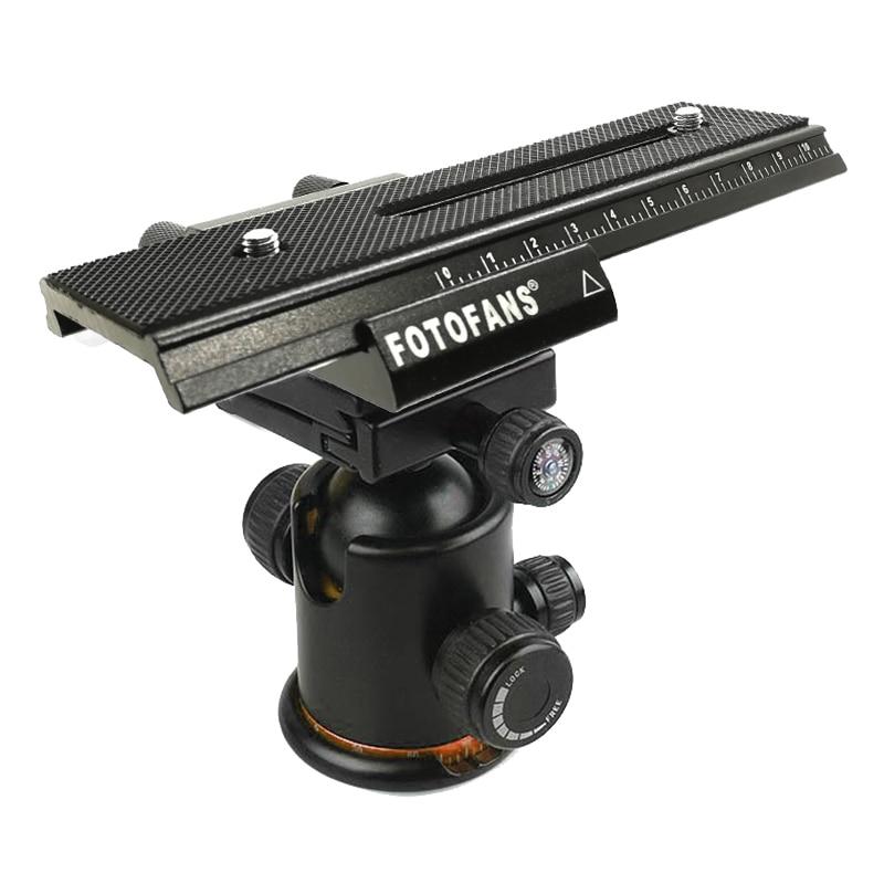 2 Way Movable Rail Slider Vedio Shooting Slider Rail For DSLR Camera Canon Macro Focusing Rail Slider With 1/4 Mounting Screw