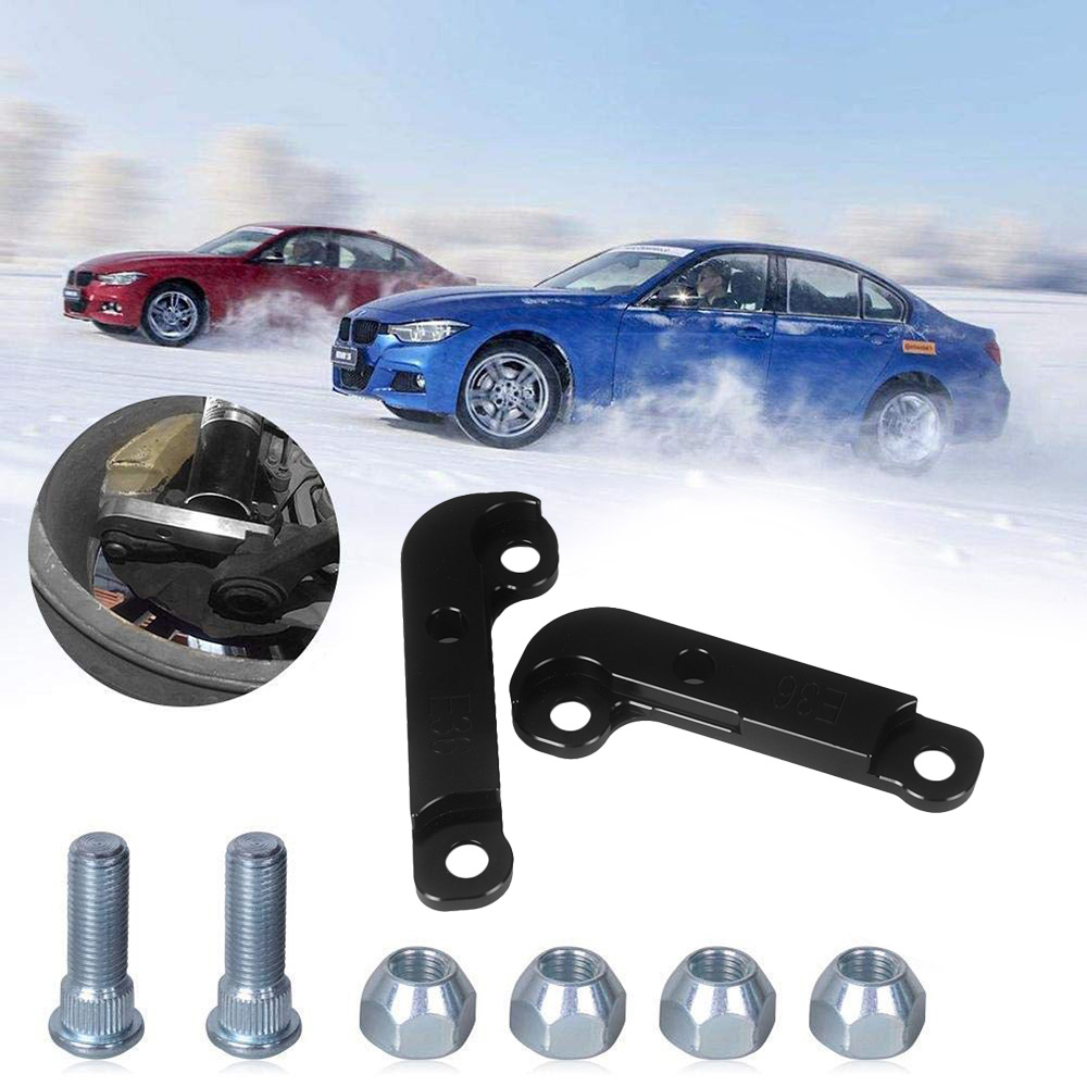 Adapter Increasing Turn Angles about 25% Drift Lock Kit Tuning Drift Power for BMW E36 Silver Adapters & Mounting Accessories