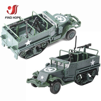 1 72 M3 pół śledzić wojskowy opancerzony pojazd montaż zabawkowy model opancerzony przewoźnika samochód dla figurka + 10 sztuk modele żołnierzy tanie i dobre opinie Z tworzywa sztucznego Other DONOT EAT Pojazdu Ciężarówki 6 lat 1 72 M3 Half-Track Armored Vehicle Unisex