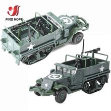 1 72 M3 pół śledzić wojskowy opancerzony pojazd montaż zabawkowy model opancerzony przewoźnika samochód dla figurka + 10 sztuk modele żołnierzy tanie tanio Z tworzywa sztucznego Other DONOT EAT Pojazdu Ciężarówki 6 lat 1 72 M3 Half-Track Armored Vehicle Unisex