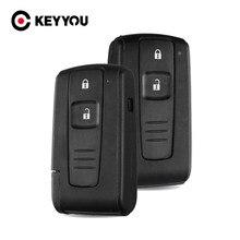 2-кнопочный пульт дистанционного управления KEYYOU для автомобильного ключа для Toyota Prius 2004 2005 2006 2007 2008 Corolla Verso Camry чехол Fob необработанное лезвие
