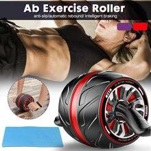 Rodillo de abdominales para entrenamiento, rueda de rebote, núcleo de vientre, deportes de resistencia