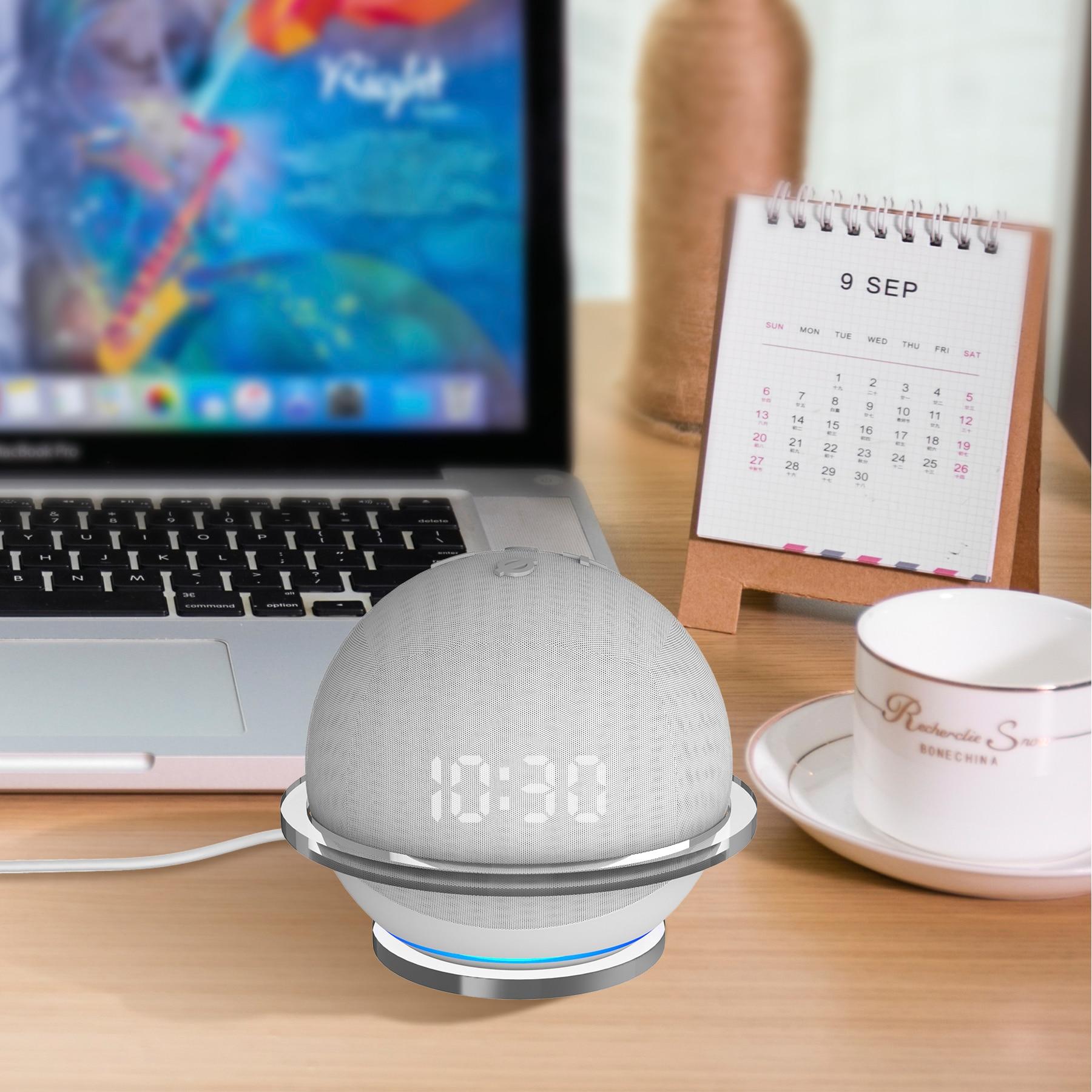 Прочная прозрачная акриловая настенная полка для Echo Dot 4, подставка для динамика, настенный кронштейн, Настольный держатель для Dot4