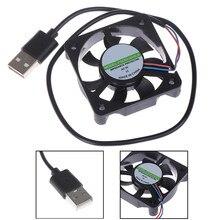 1 шт. 5 В USB pc-коннектор Вентилятор Кулер Радиатор вытяжной процессор вентилятор охлаждения Замена с кабелем 45 см 50x50x10 мм