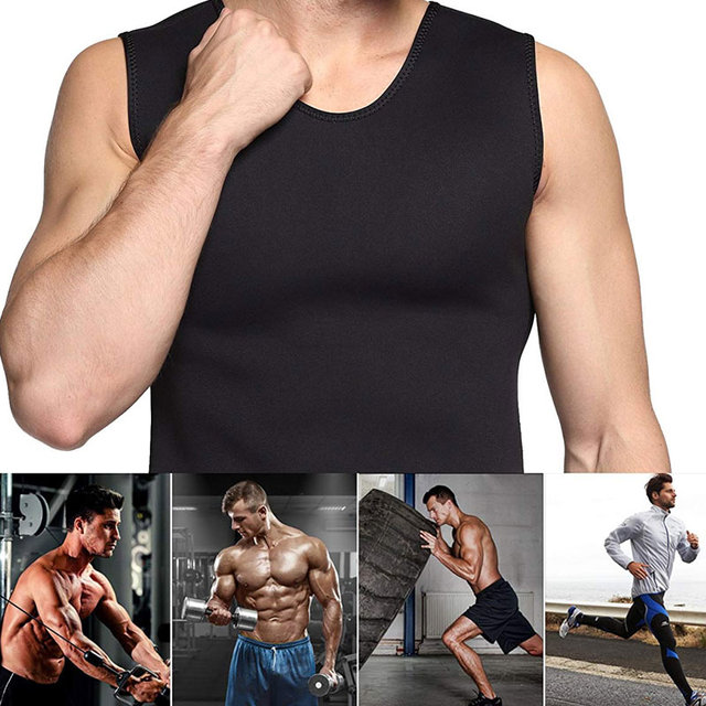 Slimming Belt Belly Waist Slimming Burning Body Fat Abdomen Vest Shaperwear Sweat Shaper Neoprene Men Corset 2