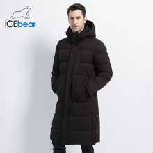 2019 neue männer Winter Jacke Lange Mantel der Männer mit Zipper Mit Kapuze Männlichen Mäntel Hohe Qualität Mann Winter Marke kleidung MWD19913D