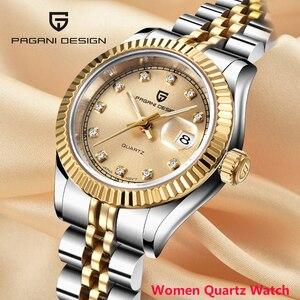 2020 New PAGANI DESIGN Quartz women's wa