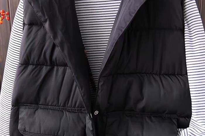 mulheres inverno colete casaco 2020 novas senhoras
