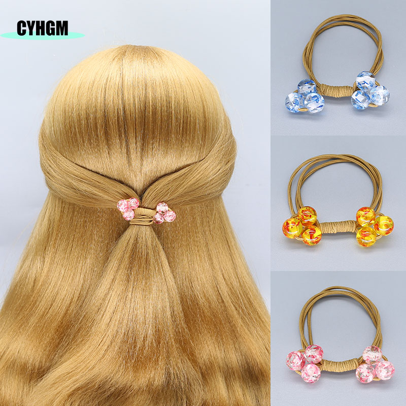 Elastic Hair Bands Girls Hair Accessories For Women Para El Cabello Hair Band Scrunchie Hair Bands Hairband Cheveux G01-3