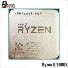 AMD Ryzen 5 2600X R5 2600X3.6 GHz ستة النواة اثني عشر موضوع 95 واط معالج وحدة المعالجة المركزية YD260XBCM6IAF المقبس AM4