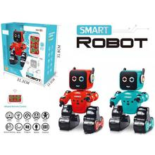 RC Smart Robot Intelligent Education Programmable Robot With Gesture Sensing Voice Recording Music Light Piggy Bank Puzzle Toy