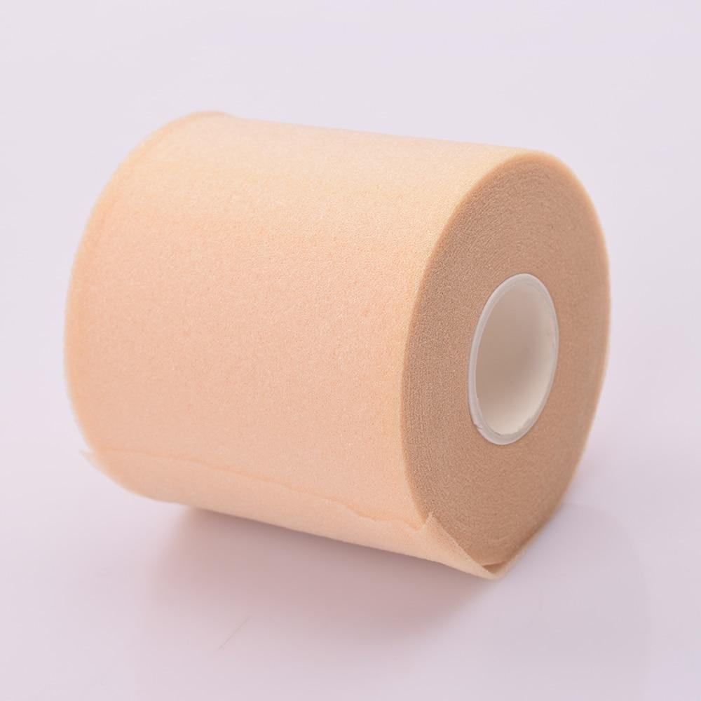 1 pièces pratique 7cm X 27m Sport soutien sangle Polyester fibre Sport physiothérapie enveloppement doux sous-enveloppe mousse cerclage ruban