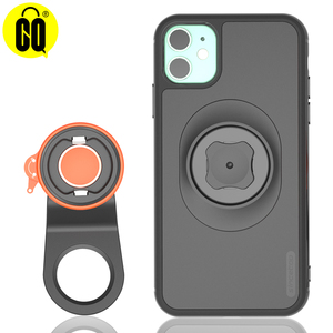 Image 1 - 2020 New Mountain Bike Phone holder For iPhone 11 Pro XsMax X 8 7 Bicycle Handlebar Mount Cell Phone Stand With Shockproof Case