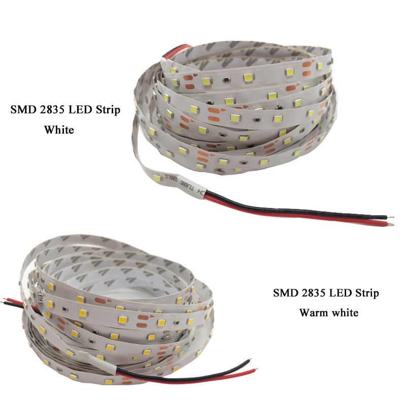 5 м 300 Светодиодная лента, светильник, не водонепроницаемый, 12 В постоянного тока, лента ярче, SMD3528, холодный белый/теплый белый/голубой/красный/зеленый/синий