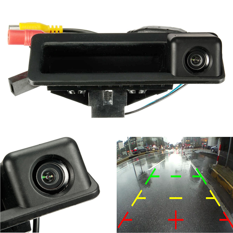 Waterproof CMOS Sensor 170° Car Rear View Reversing Camera CCD HD For BMW E39 1/3/5 Series E60 E82 E9 In-vehicle Camera NTSC/PAL