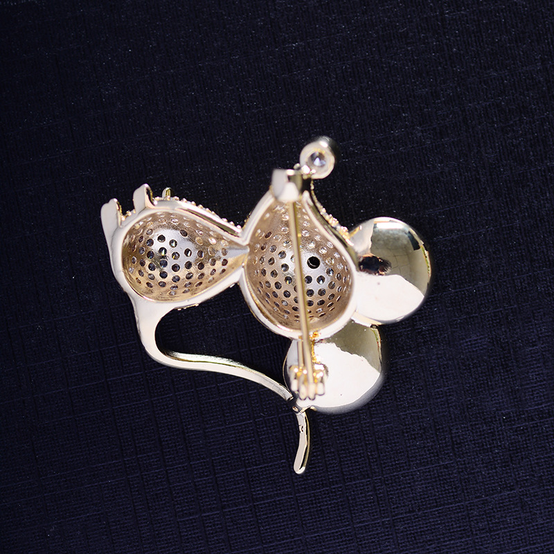 Bad Guy Zircon Brooches for Women's Mouse Brooches Pins Fashion Pins Accessories for Clothes Decoration Brooch Medical Cute Pins-3