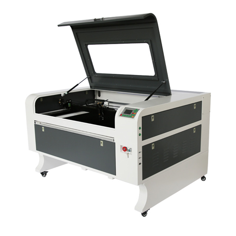100W reci w2 laser découpeuse 1080 bois gravure découpeuse CNC laser machine ruida système avec cw5000 escargot échappement