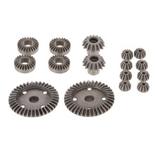 16Pcs Metal Differential Gear Set 12T 15T 24T 38T For RC Hobby Model Car 1/18 Wl