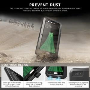 Image 5 - Aluminum Metal Case for OPPO R11 LOVE MEI Armor Outdoor Hard Shell Phone Case for OPPO R11s Tempered Glass OPPO R11s Plus Cover