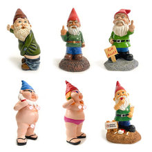 Home Ornament Garden Goblin-Art Decoration Fun Drinking Garden Gnomes for Any Garden Yard Outdoor Indoor Ornament