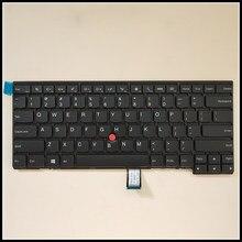 Nova marca original para lenovo ThinkpadT440S T440 E431 T431S E440 L440 E455 teclado