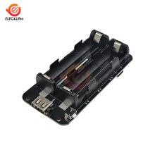 Плата расширения мобильного телефона 5 В/3 В/1 А, двойная литиевая Защита аккумулятора 18650 V8, Micro USB зарядное устройство для Arduino ESP32/ESP8266